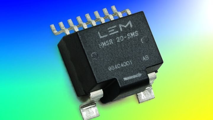 SMD-Stromsensor der HMSR-Serie
