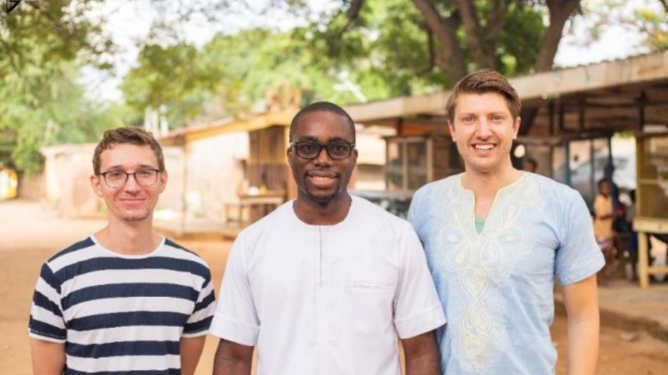 Die drei Gründer von »getINNOtized« (links nach rechts): Benjamin Schunke, Kwame Osei-Tuti und Ulrich Busch.