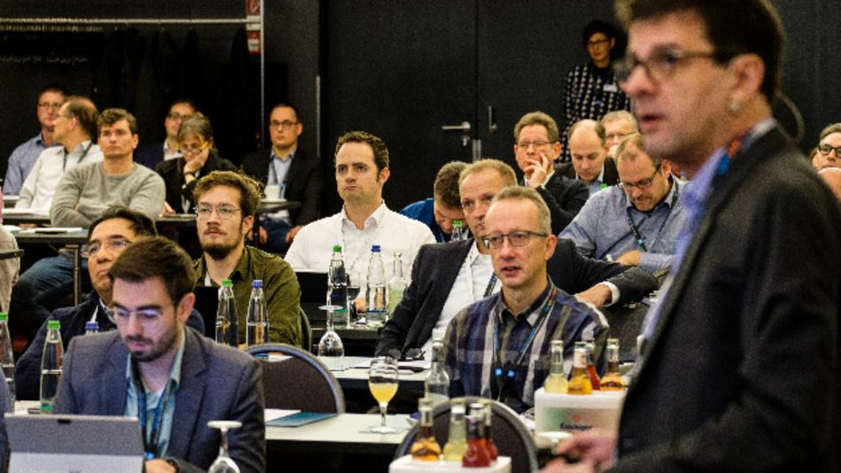 Olivier Pauzet, Vice President und General Manager Market Strategy von Sierra Wireless, eröffnete die Konferenz mit seiner Keynote »The Future of IoT: Edge Intelligence, Distributed Processing and Data Orchestration«