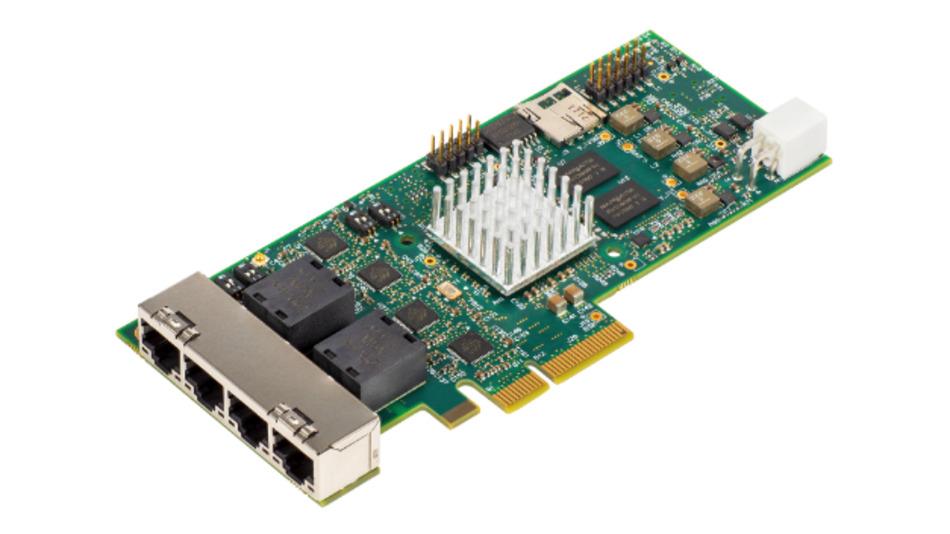 Bild 1. Mit dem Evaluation Board können TSN IP Core und Embedded Software getestet werden.
