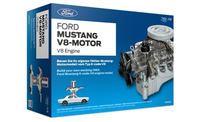 Bausatz 'Ford Mustang V8-Motor' von Franzis