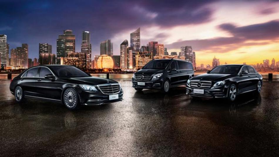 Daimler Mobility und Geely Technology starten Premium Limousinen-Fahrdienst StarRides in der chinesischen Stadt Hangzhou.