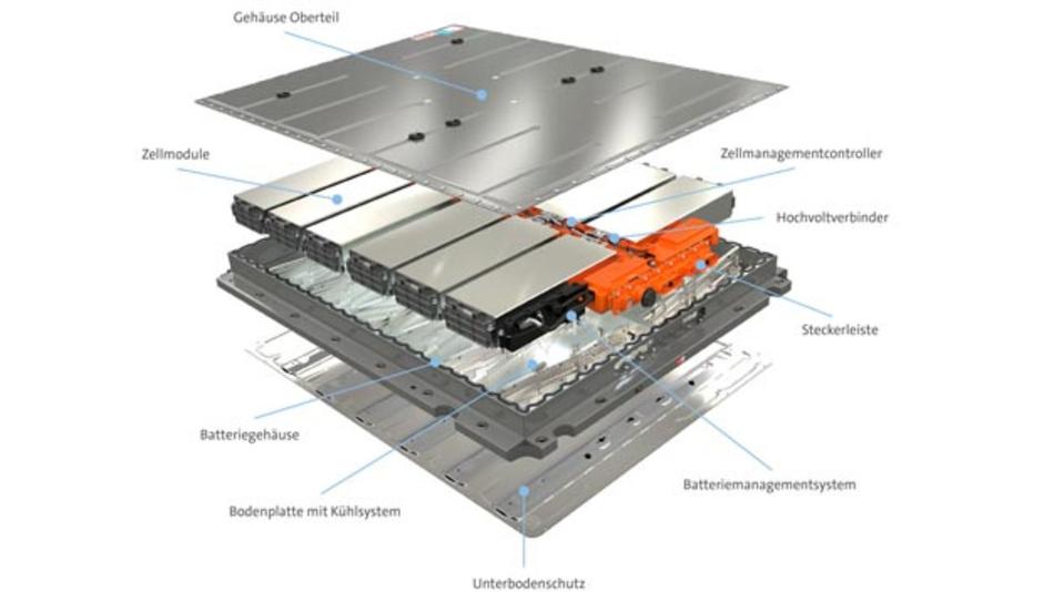 Herzstück des Volkswagen ID.3 ist die Batterie, die im Werk Braunschweig gefertigt wird.