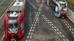 Schienenlose autonome Straßenbahn
