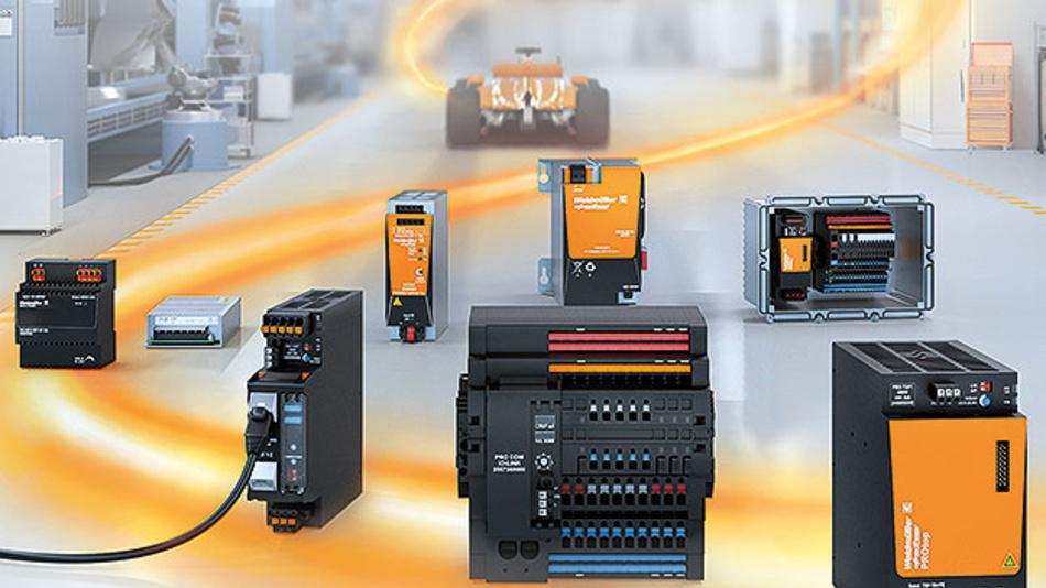 Zuverlässige Energieversorgung mit einem Stromversorgungssystemaus Netzteil, elektronischer Sicherung und einer Kommunikaitonsschnittstelle.