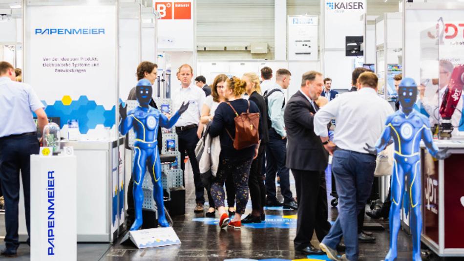 Im Jahr 2019 verzeichneten die all-about-automation-Messen in Hamburg, Essen, Leipzig und Friedrichshafen zusammen über 600 Aussteller.