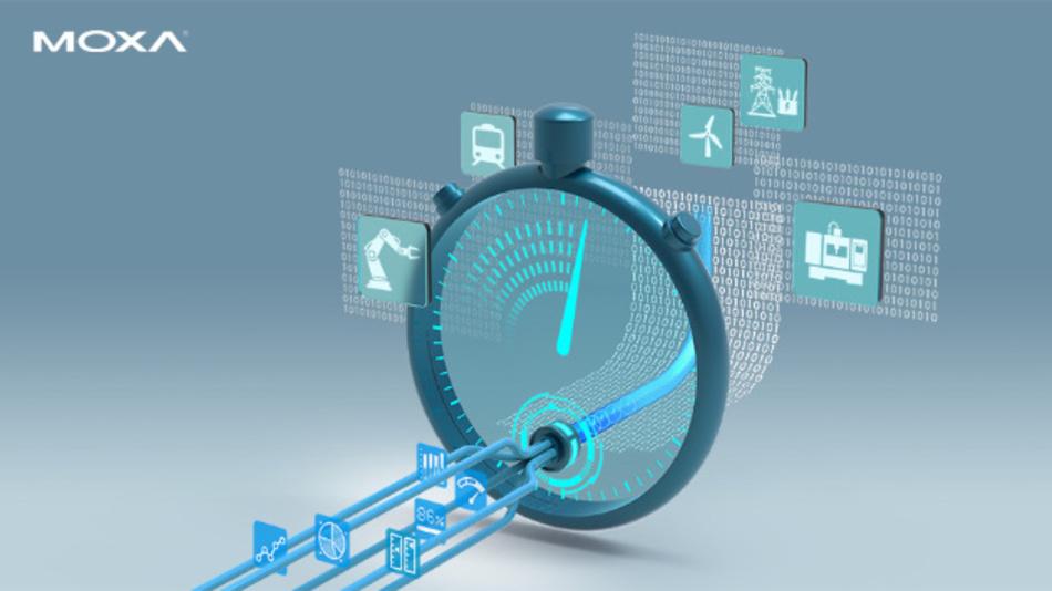 Moxas neues TSN-Framework integriert Techniken wie OPC UA over TSN und CC-Link IE TSN.
