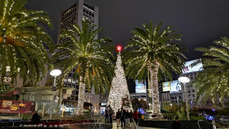 Die 65. IEDM findet in San Francisco im Hilton Hotel unweit des weihnachtlich geschmückten  Union Square statt.