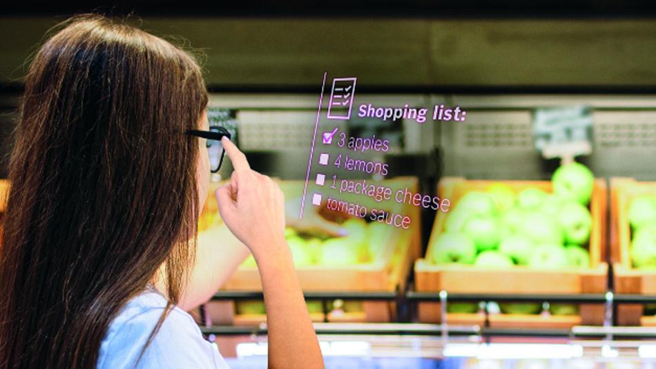 Smartglasses sind bisher wenig alltagstauglich. Ein kompaktes Projektionssystem soll das ändern.