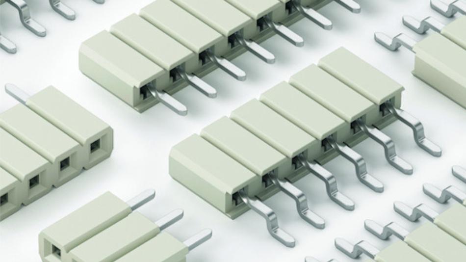 Bild 2. Federleistensteckverbinder für LED-Anwendungen.