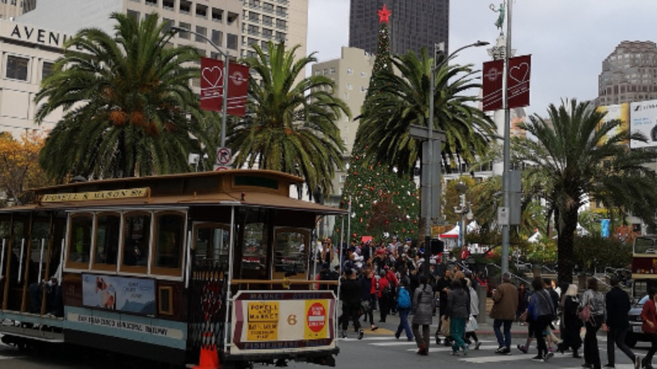 Unweit des Union Square in San Francisco findet die 65. IEDM statt.