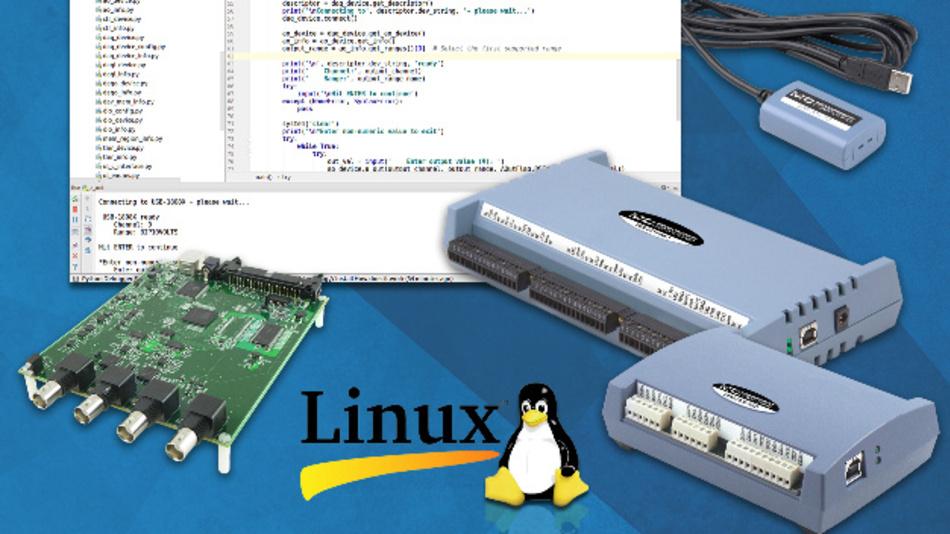 MCC hat mehrerer seiner USB-Messgeräte um Linux-Kompatibilität erweitert.
