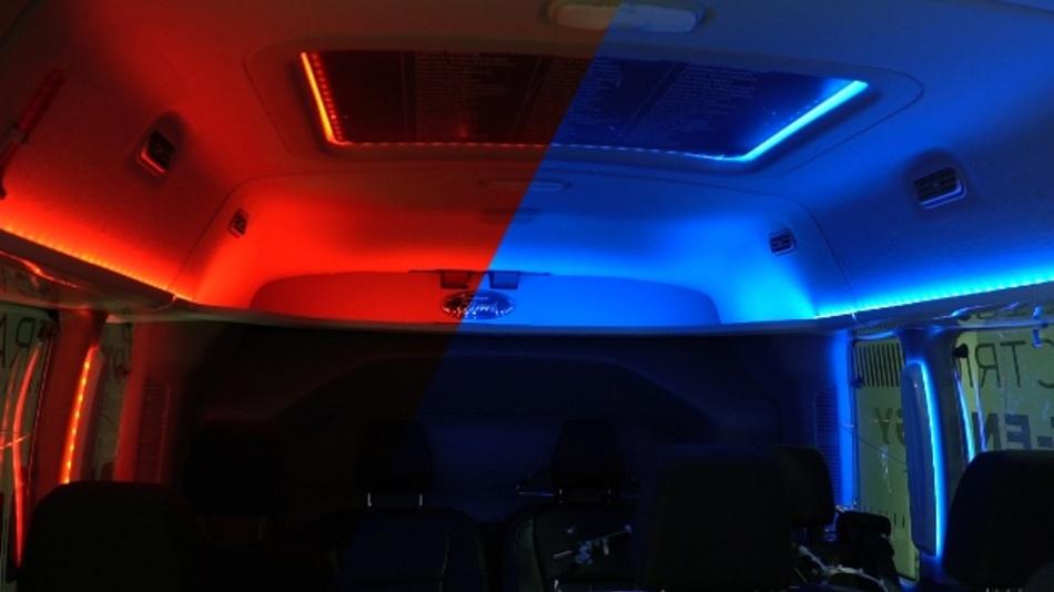 Unterschiedliche Farben bringen unser Gehirn dazu, zu glauben, es sei heißer oder kühler als es wirklich ist.