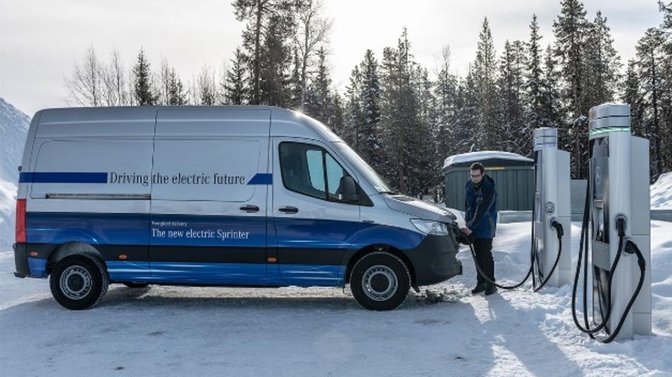 Der neue eSprinter von Daimler