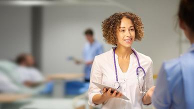 Noch dient das Tablet in den meisten Fällen nur als Anzeige, dabei könnten Ärzte viel mehr damit machen.