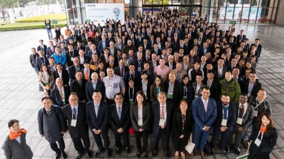 Die Teilnehmer der Industrial-IoT World Partner Conference von Advantech.