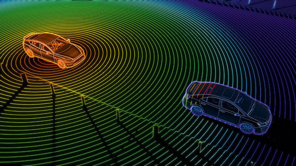 Die Sensortopologie in dem hoch- und vollautonomen Automobilen ist ein wichtiges Thema in der Zukunft.