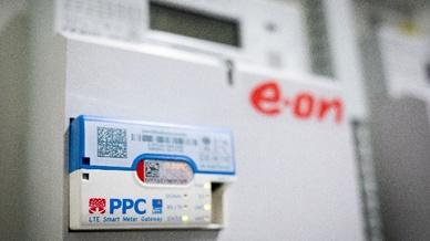 Intelligentes Messsystem für Strom,  ausgerüstet mit einem LTE Smart Meter Gateway