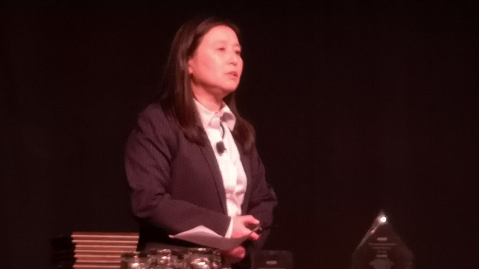 Mariko Takayanagi eröffnete als General Chair das 65. International Electron Devices Meeting in San Francisco.