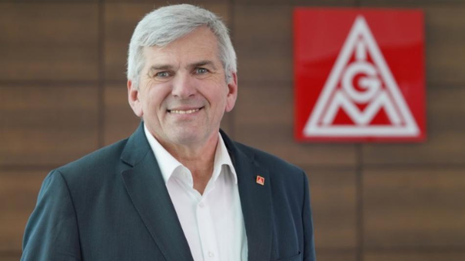 IG Metall-Vorstand Jörg Hofmann.