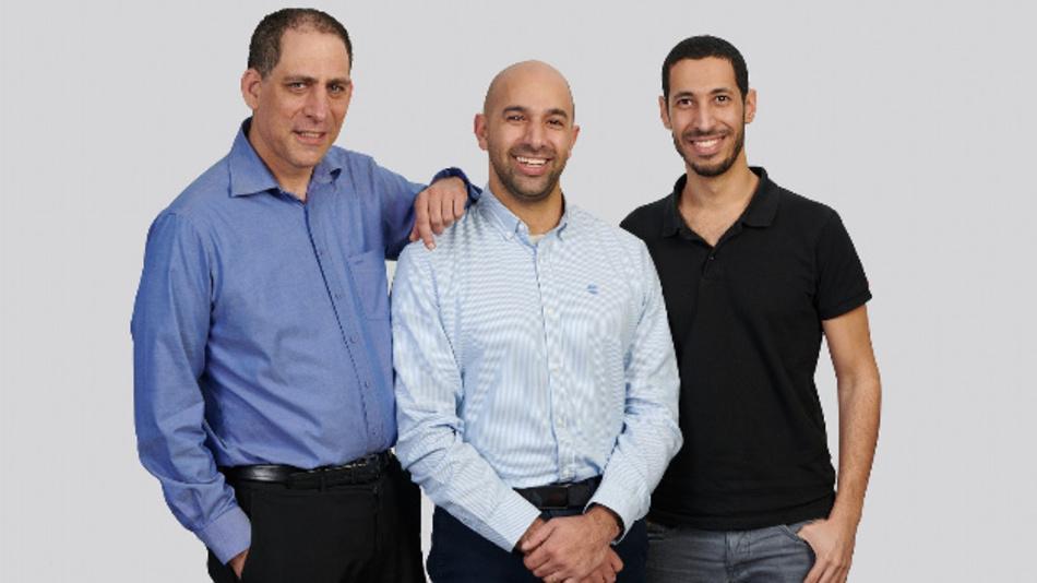Die Gründer von TriEye: CTO Prof. Uriel Levy, CEO Avi Bakal und Omer Kapach, VP Research and Development.