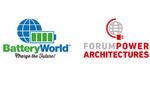 BatteryWorld und Forum Power Architectures