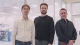 Dr. Soeren Steudel, Mitgründer und CTO; Dr. Alexander Mityashin, Mitgründer und COO; Sean Lord, CEO.
