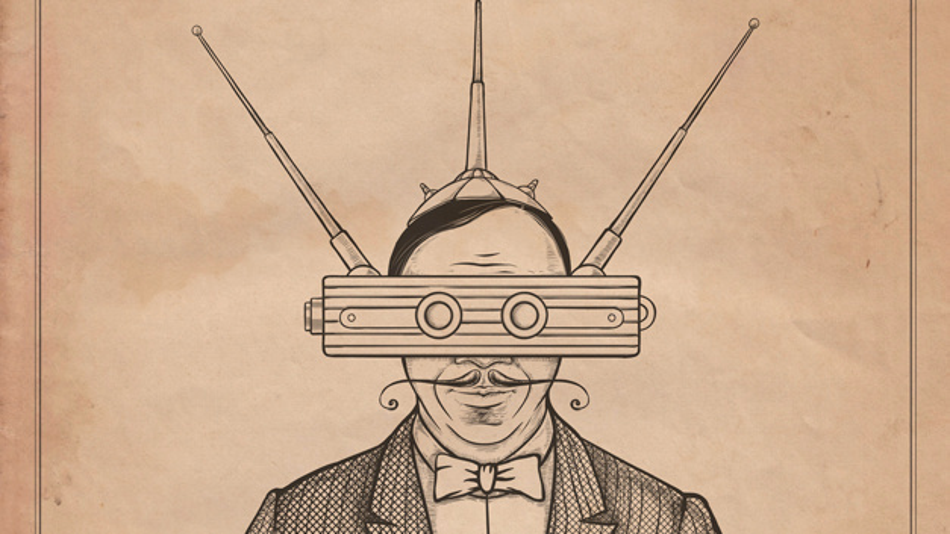 Radio waves glasses. Device