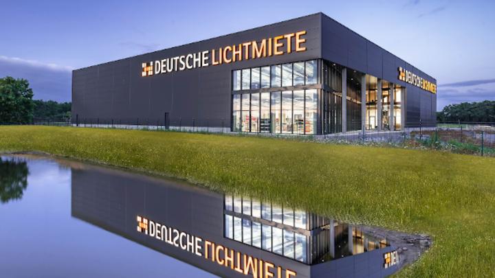 Die neue Produktionsstätte in Sandkrug, Niedersachsen.