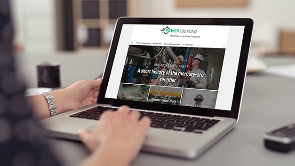 Power & Beyond ist eine Online-Plattform rund um Leistungselektronik.
