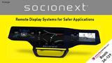 Socionext zeigt seine Smart Display-Controller für Remote-Display-Anwendungen auf der Embedded World.
