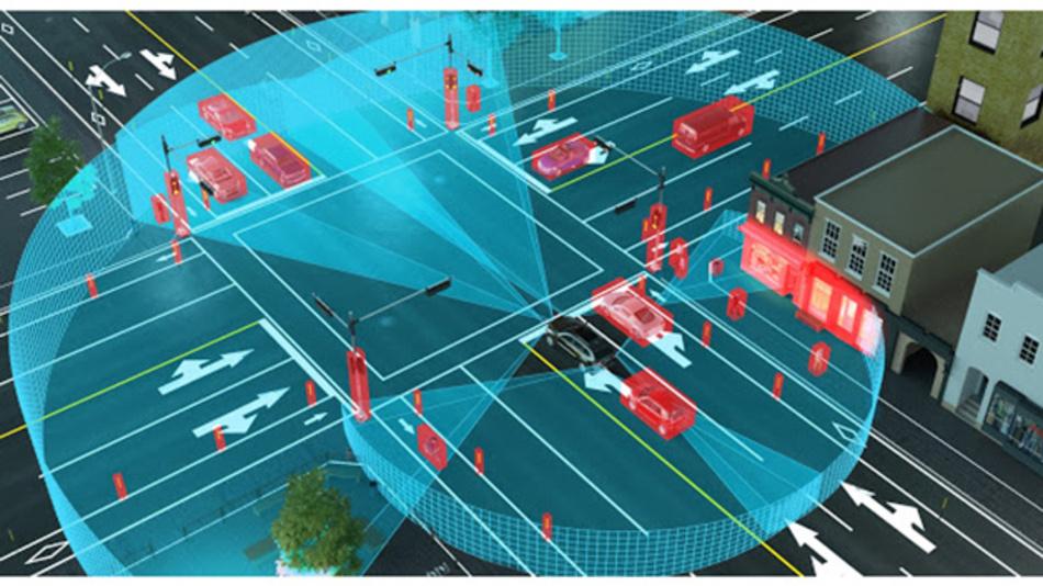LiDAR-Technologie unterstützt die Umgebungserkennung von Fahrerassistenzsystemen und das autonome Fahren.