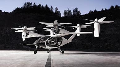 Das von Joby Aviation entwickelte eVOTL will Toyota in hohen Stückzahlen fertigen, um Lufttaxi-Services in die Städte zu bringen.