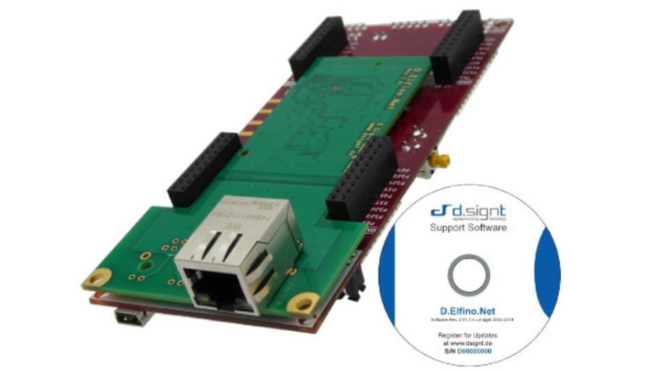 Der TCP/IP Netzwerk-Stack benötigt kein eigenes Betriebssystem und kann in Verbindung mit einem Echtzeit-Betriebssystem eingesetzt werden.
