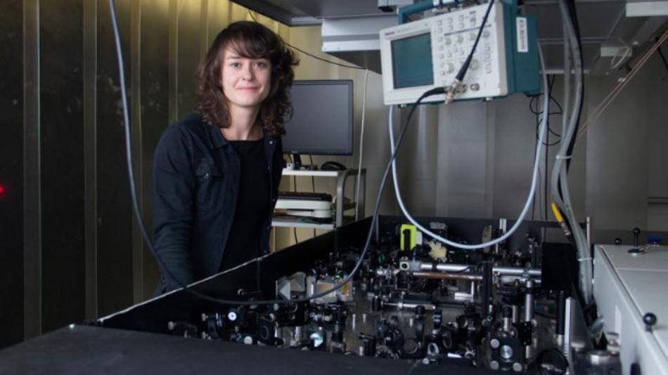Claudia Gollner, Institut für Photonik an der Fakultät für Elektrotechnik und Informationstechnik der TU Wien.