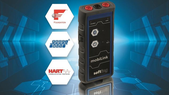 mobiLink ermöglicht den Zugang zu Feldgeräten mit drei Kommunikationsprotokollen.