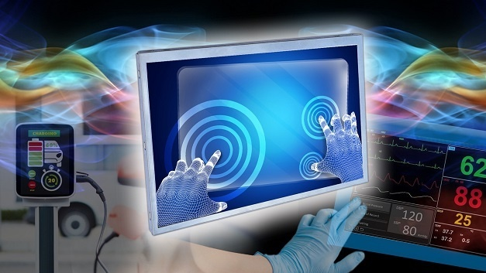 Die projiziert-kapazitive Touchscreen-Technik wird in vielerlei Mensch-Maschine-Schnittstellen in elektronischen Geräten, medizinischer Ausrüstung oder Fahrzeugdisplays eingesetzt.