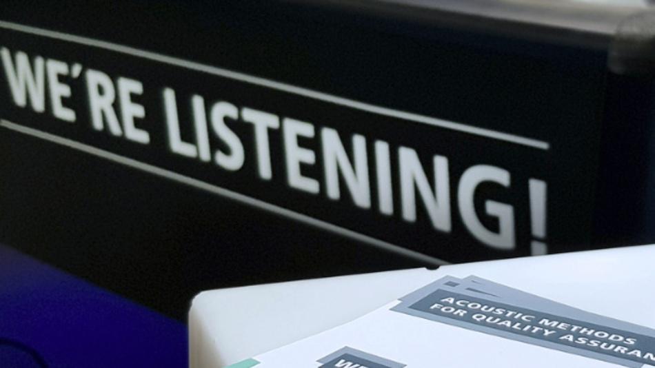 Das Fraunhofer IDMT ist auf akustische Qualitätsprüfung spezialisiert und damit der »Zuhörer« unter den »Beobachtern« in der Allianz Vision.