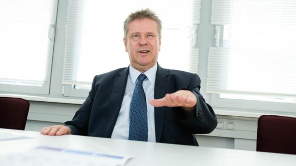 Hannes Niederhauser, CEO von Kontron und Chairman des Management Board der S&T Group.