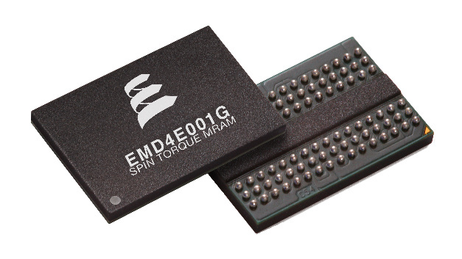 Die 1Gb-STT-MRAMs von Everspin.