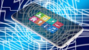 Smartphone für die Steuerung des Smart Homes.