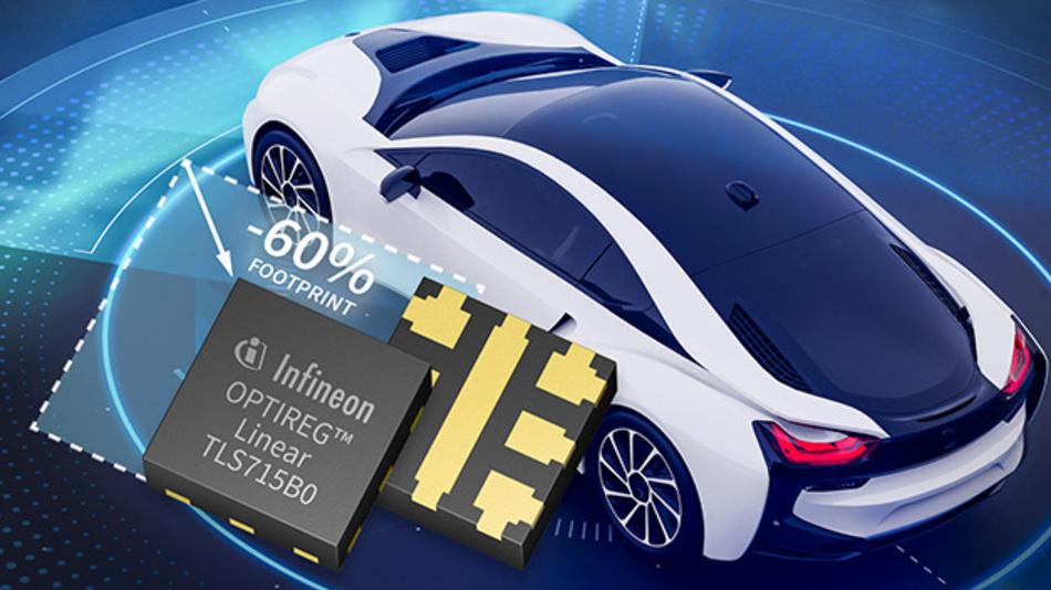 Klein, effizient und robust: Infineon setzt auf Stromversorungsbausteine und die Automobil-Industrie