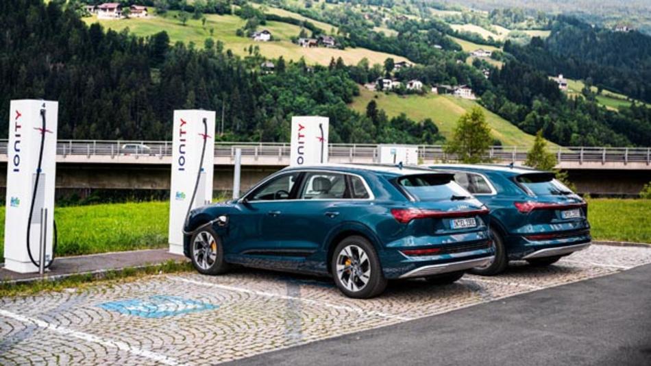 Der Audi e-tron Charging Service bietet ab sofort ein neues Preismodell und vergünstigte Konditionen bei Ionity.