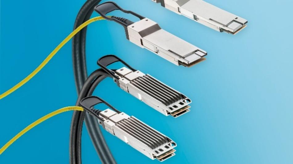 LEONIs ACC und AOC Verbindungen für Rechenzentren zeichnen sich durch längere Übertragungsstrecken bei geringem Stromverbrauch aus. Erstmalig bietet LEONI auch AOCs mit Siliziumphotonik.