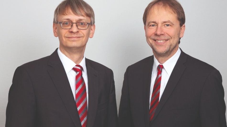 Dr. Rudo Grimm (l.) und Dr. Matthias Lenord, Lenord + Bauer