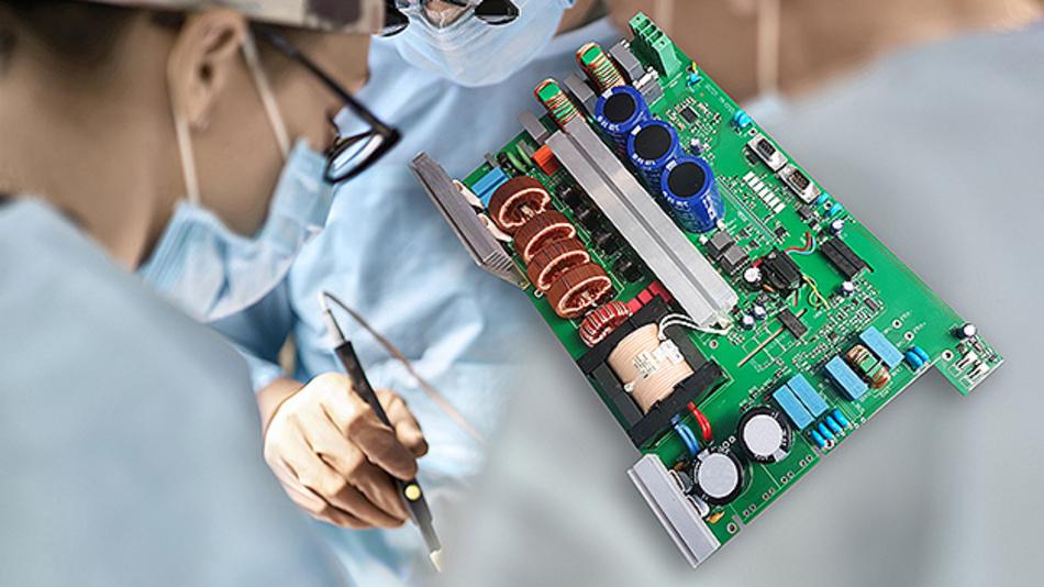 Netzteile für Laser in der Medizin müssen hohe Spitzenlasten liefern und gleichzeitig störarm, sicher und leise sein.
