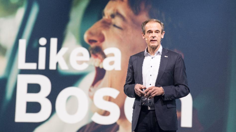 Dr. Volkmar Denner, Vorsitzender der Geschäftsführung der Robert Bosch GmbH: »Die Konjunkturschwäche und der starke Einbruch der Automobilproduktion haben  auch bei Bosch Spuren hinterlassen«.