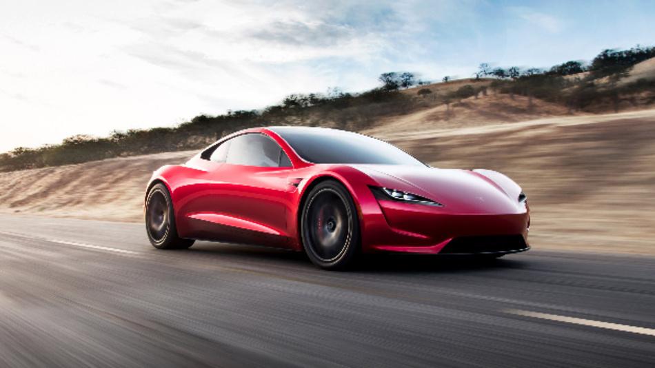 Das Model Y von Tesla.