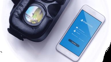 Invirto bietet acht Stunden therapeutisches Schulungsmaterial und fast vier Stunden VR-Bildmaterial