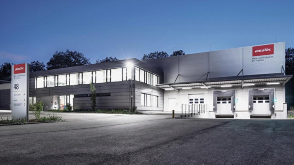 Neues Logistikzentrum von Datatec in Reutlingen mit 1.500 m² Fläche.